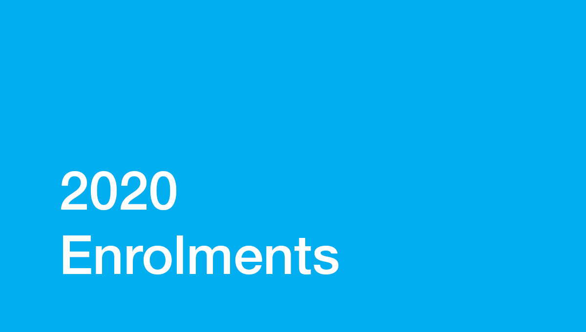 Image for 2020 Enrolments