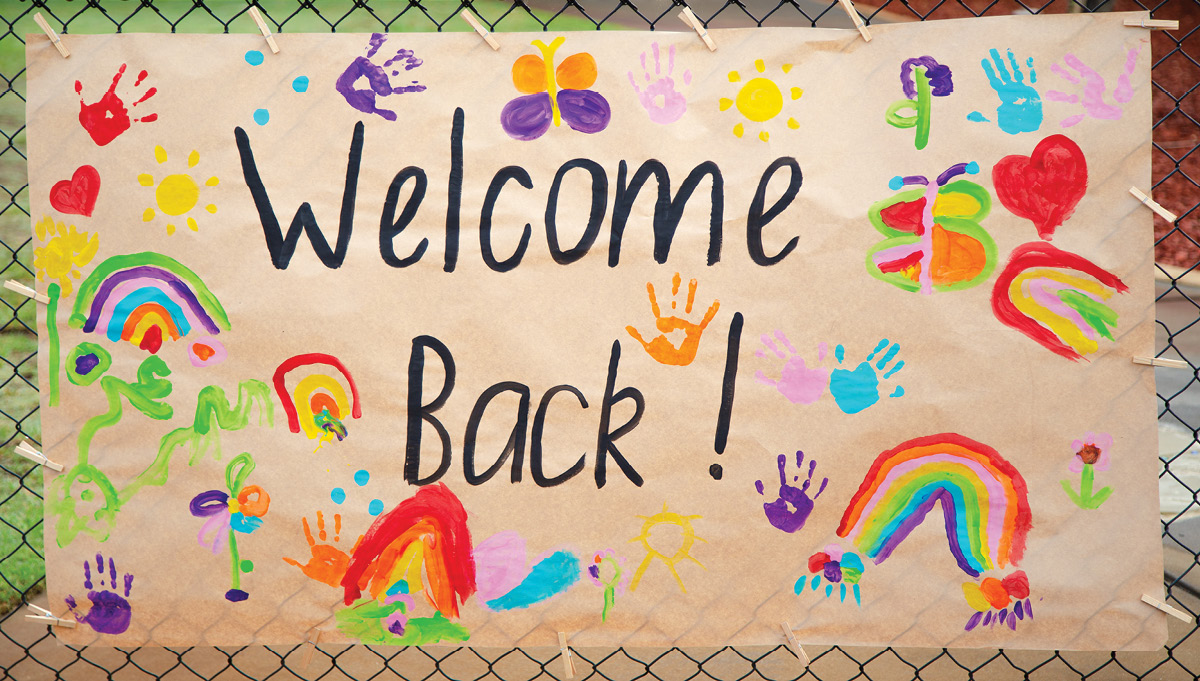 Image for Welcome back