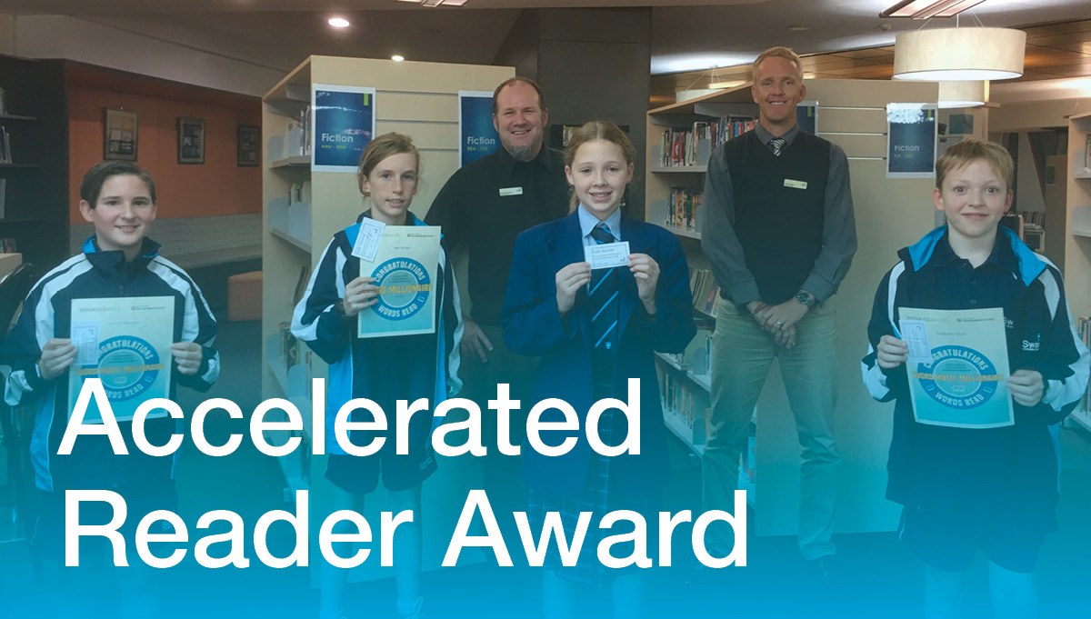 Image for Accelerated Reader Certificate Winners