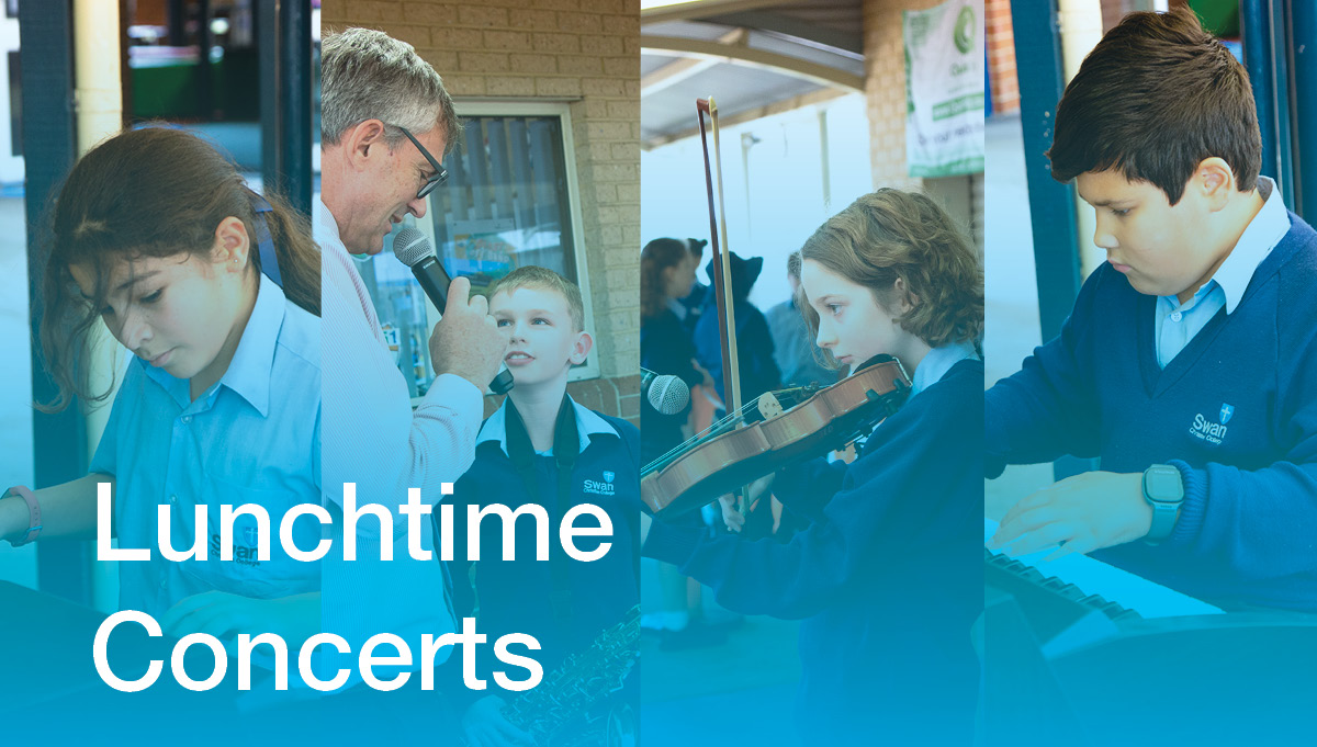 Image for Lunchtime Concerts Create Atmosphere
