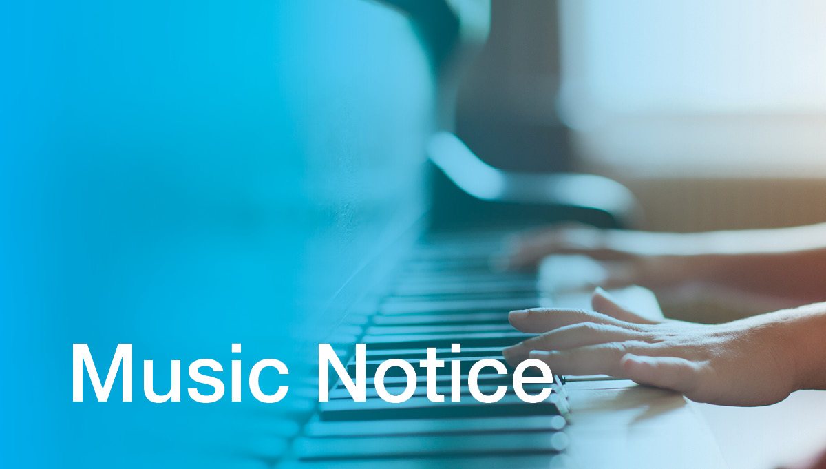 Image for Application for and Withdrawal from Music Lessons
