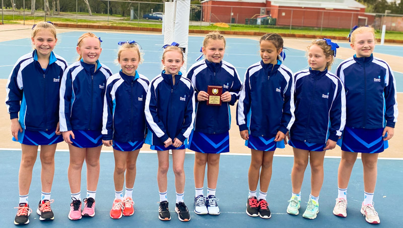 Image for Junior School students shine at Netball carnival